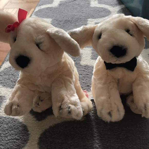 Victoria S Secret Other Spike And Lily Plush Puppy Dog Set Stuffed